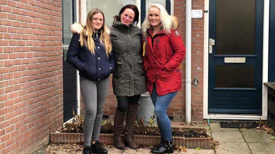 Kerstaflevering van Steenrijk, Straatarm