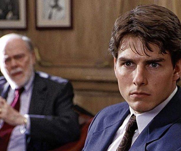 Tom Cruise is een topadvocaat in spe in The Firm