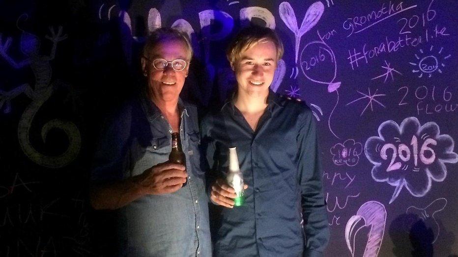 Jack Spijkerman aan de beterende hand op Bonaire