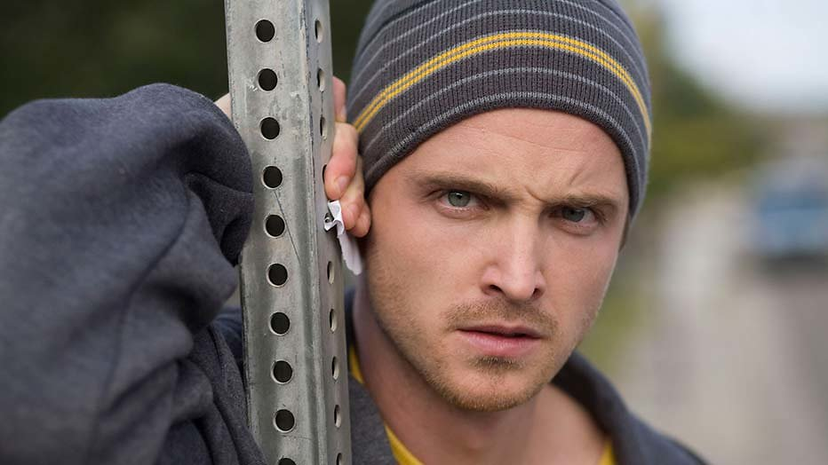 Jesse Pinkman hoofdpersoon in Breaking Bad-film