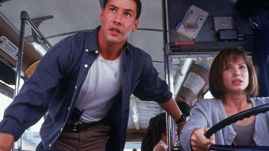 Speed: Keanu Reeves en Sandra Bullock racen door L.A.