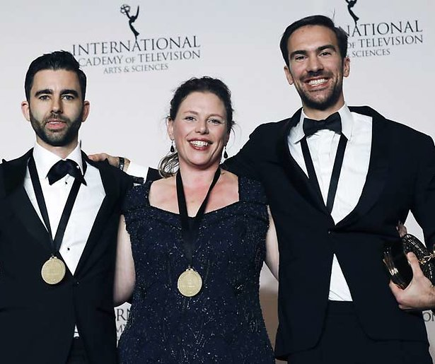 Internationale Emmy Award naar Nederlands programma