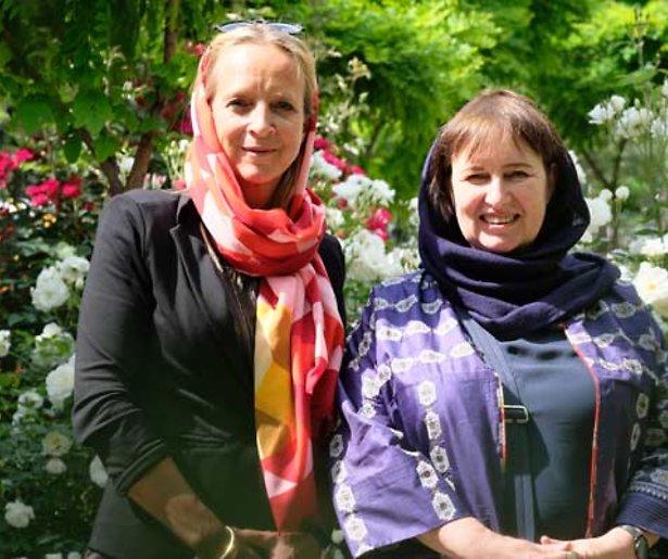 Floortje en de ambassadeurs in Iran