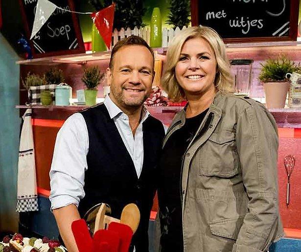 Carlo en Irene willen samen late-night show presenteren