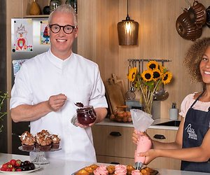 Rudolph van Veen werkt met jonge bakkers in nieuwe serie 24Kitchen