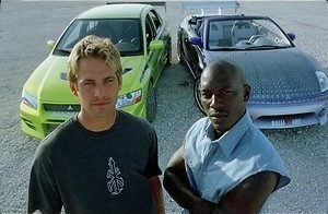 Paul Walker racet door
