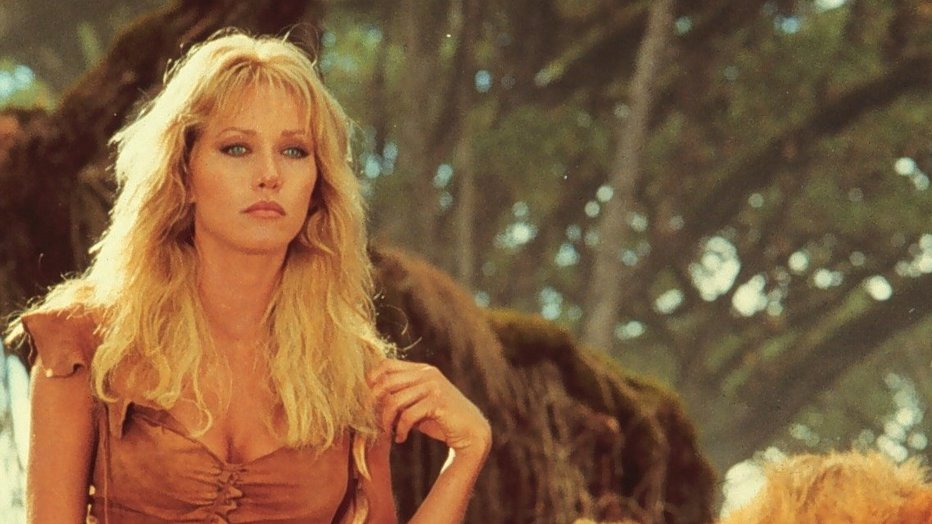 Tanya Roberts in Sheena Queen of the Jungle