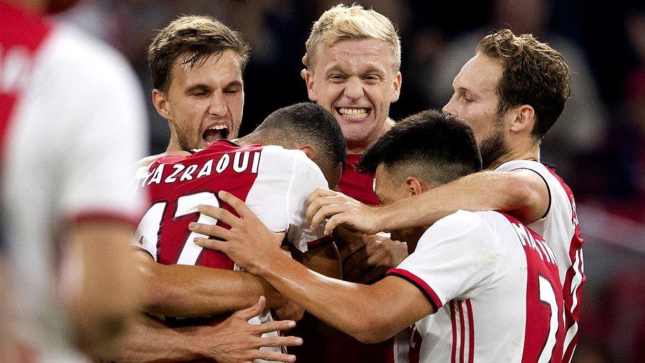 De TV van gisteren: Ruim anderhalf miljoen voetbalfans zien Ajax winnen