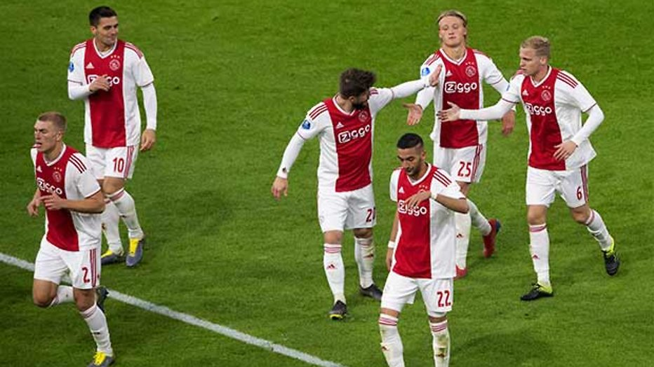 Europese kraker in De Champions League: Ajax - Real