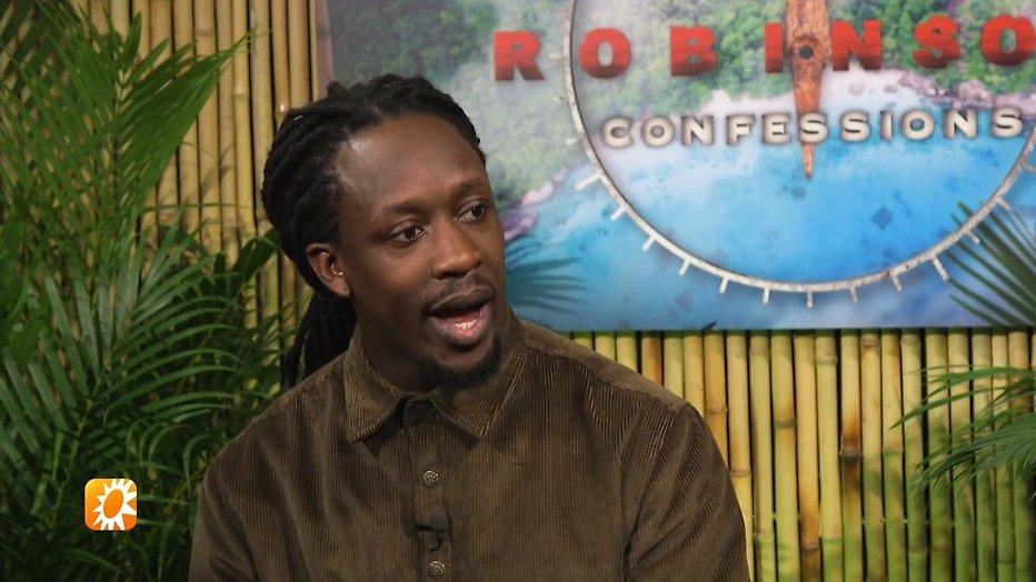 Akwasi vond Roy Donders grootste dramaqueen van Robinson