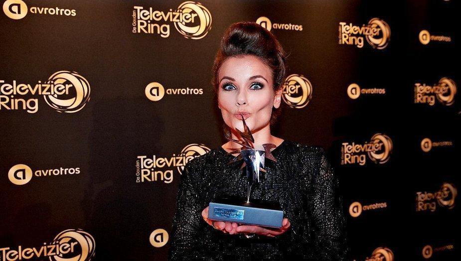 Angela Schijf over de Zilveren Televizier-Ster en Meisje van Plezier