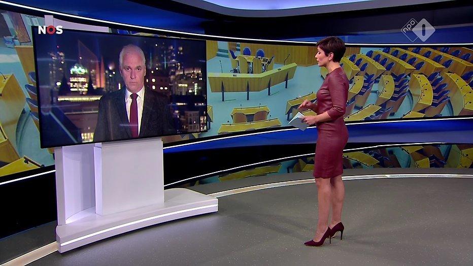 Annechien Steenhuizen Verrast Nos Journaal Kijkers Met Strakke