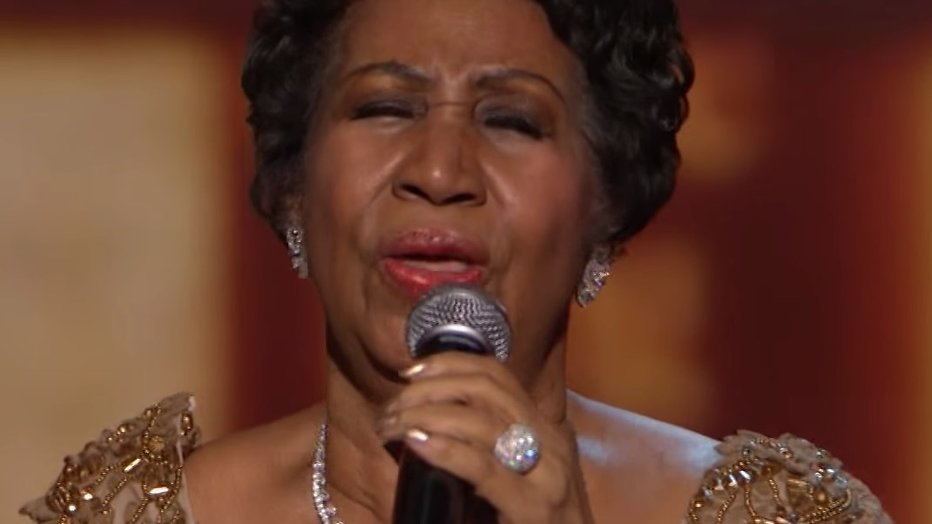 YouTube-hit: Aretha Franklin zingt Natural Woman