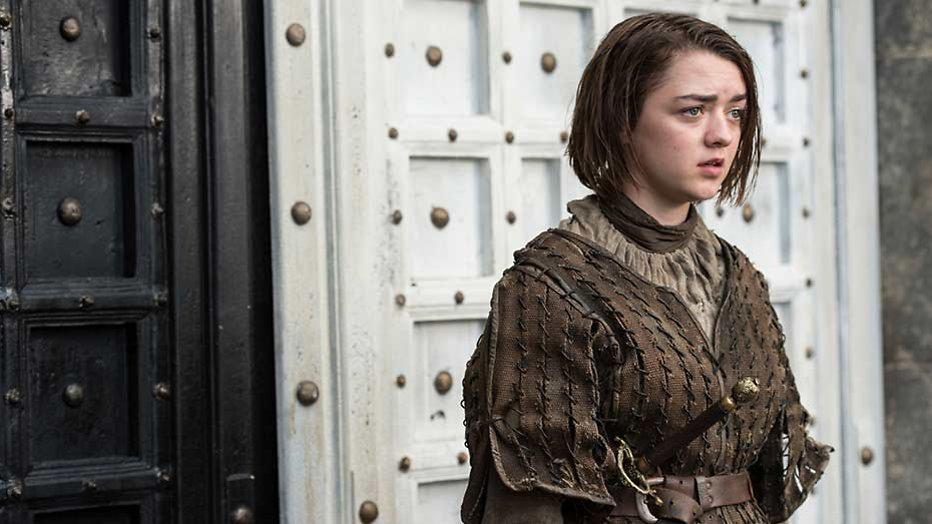 Maisie Williams neemt met lugubere foto afscheid van Game of Thrones