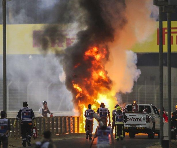 De TV van gisteren: Ruim 1,3 miljoen mensen zien gruwelijke crash Grosjean in F1