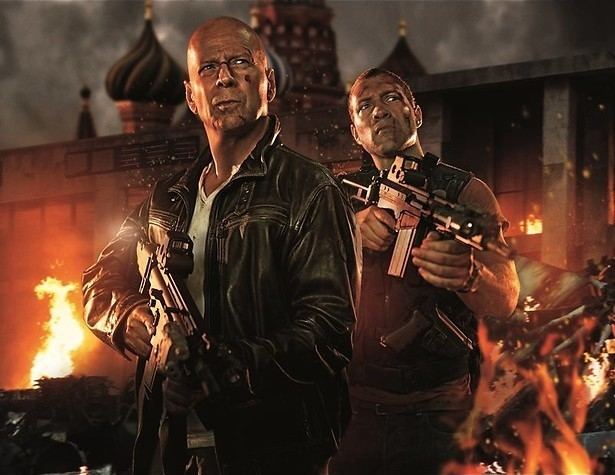 Bruce Willis zoekt zijn zoon op