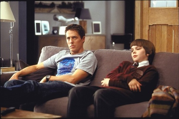 Hugh Grant als vaderfiguur