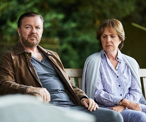 Ricky Gervais begonnen aan script van derde seizoen After Life