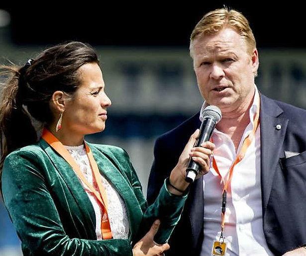 Aletha Leidelmeijer (Fox Sports) is zwanger