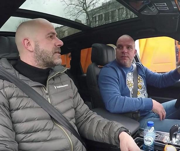 Autoshow Andy van der Meijde te zien bij FOX Sports