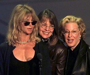 Goldie Hawn, Bette Midler en Diane Keaton samen voor nieuwe film