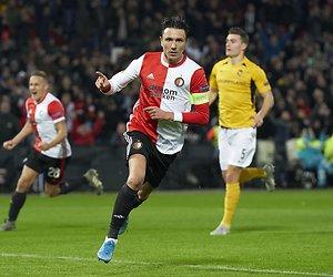 De TV van gisteren: Ruim 1,3 miljoen fans zien Feyenoord - Young Boys