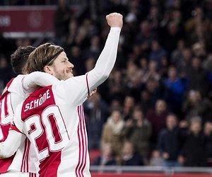 De TV van gisteren: 1,9 miljoen zien memorabele wedstrijd Ajax