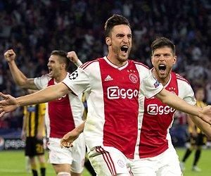 De TV van gisteren: 1,8 miljoen voor winnend Ajax in Champions League