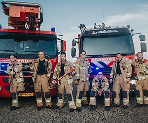 Realityserie over de brandweer op SBS 6