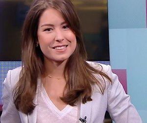 Amber Brantsen blij bij NOS Journaal