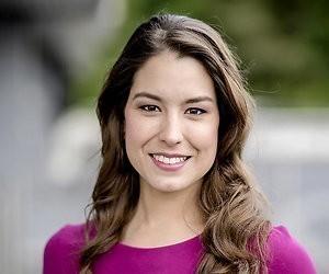 NOS-nieuwslezeres Amber Brantsen in verwachting van eerste kindje