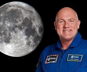André Kuipers: 'Ik zou nog dolgraag naar de maan willen'