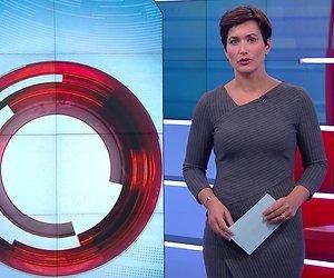 Kledingkeuze Annechien Steenhuizen leidt aandacht NOS Journaal kijkers af