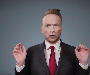 Arjen Lubach kondigt nieuw seizoen Zondag met Lubach aan met deepfake video