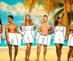 Tony Star wordt klein geschapen afgebeeld in Adam zoekt Eva VIPS