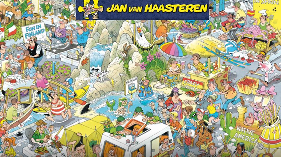 Win! 5x 2 puzzels van Jan van Haasteren