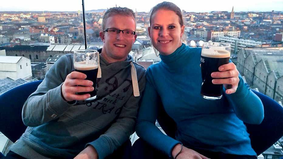 Boer Jan en Rianne zijn getrouwd