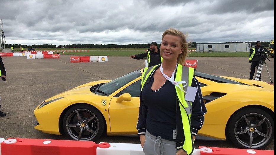 Bridget Maasland ontmoet Formule 1 kampioen Sebastian Vettel