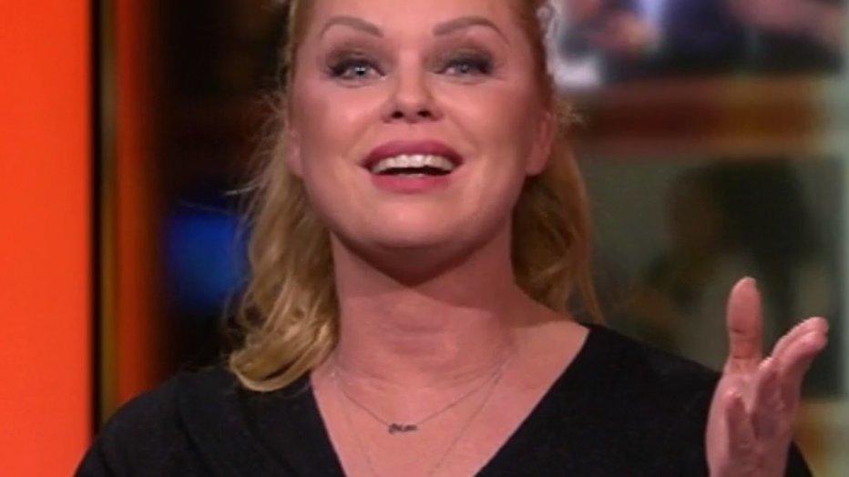 Ontroerde Bridget Maasland neemt afscheid van Shownieuws