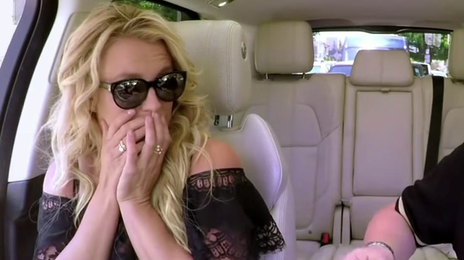 Britney Spears in Carpool Karaoke