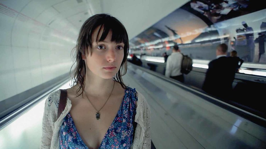 Actrice Gaite Jansen in BBC-serie Peaky Blinders