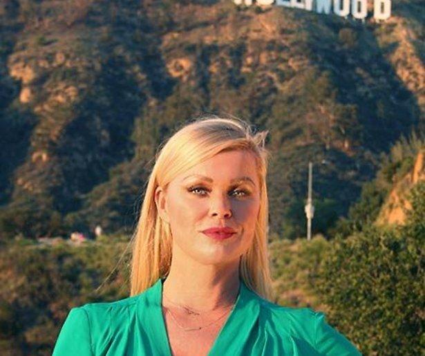 Bridget op de koffie bij Nederlanders in het glamoureuze Hollywood