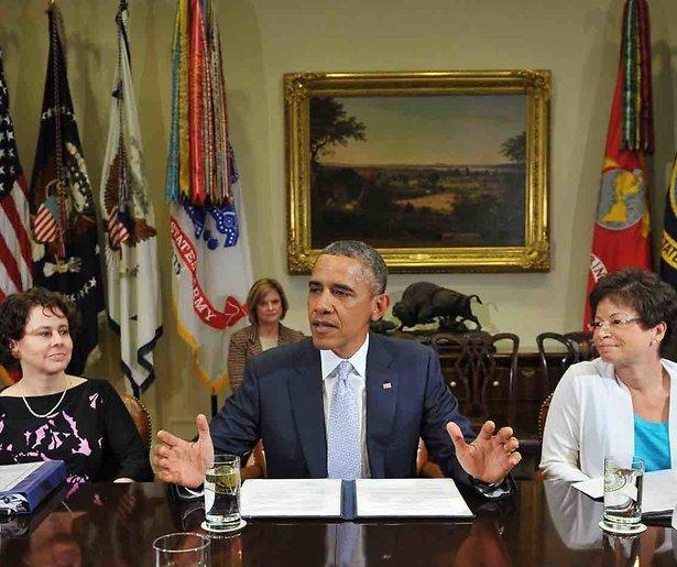 Obama praat met Netflix over eigen serie