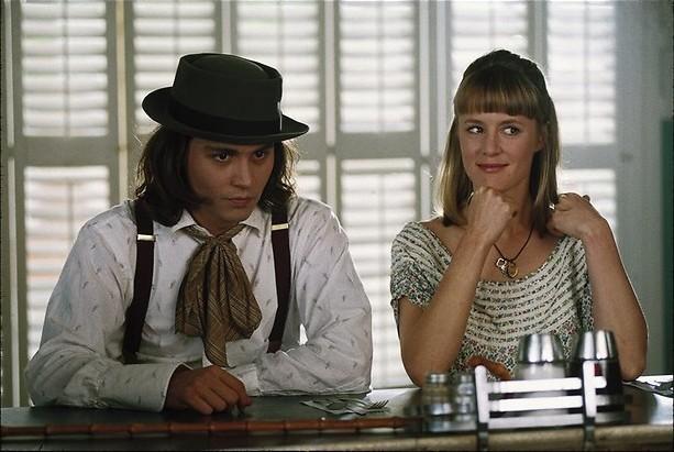 Johnny Depp doet Buster Keaton na