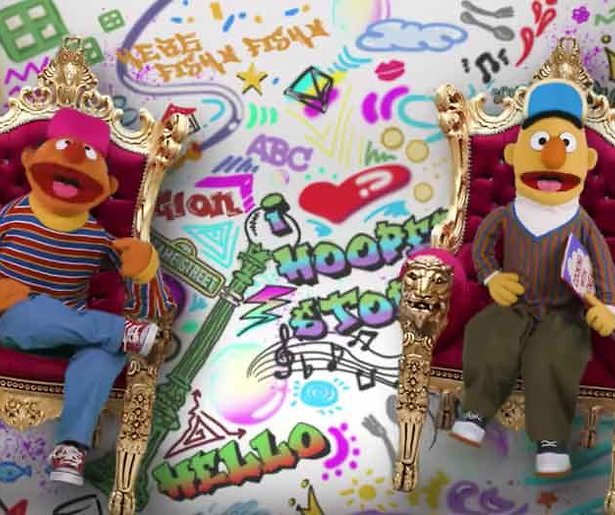 YouTube-hit: Bert & Ernie rappen The Fresh Prince-intro