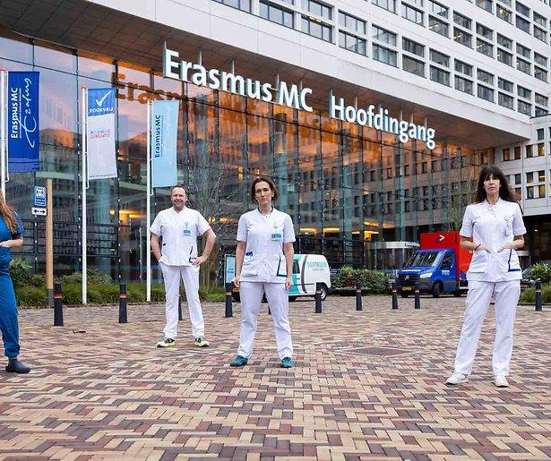 BN'ers lopen vanaf 23 maart stage in het Erasmus Ziekenhuis