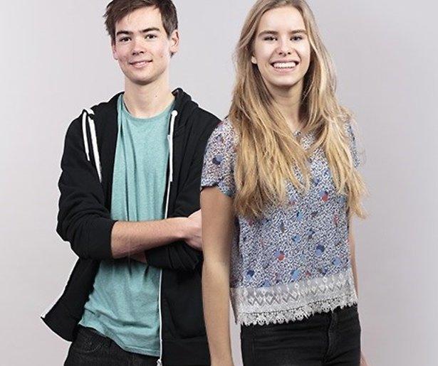 Interview: Mats en Emma vertellen over Brugklas van Avrotros