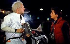 Michael J. Fox reist door de tijd