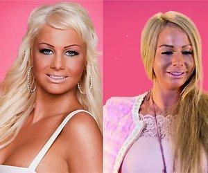 Wat heeft Barbie aan haar gezicht gedaan?
