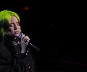 Kijk terug: Billie Eilish zingt Yesterday tijdens uitreiking Oscars
